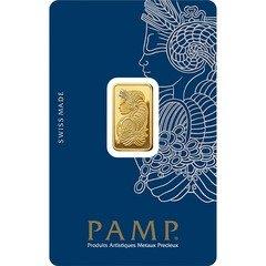 PAMP Suisse Lady Fortuna 5 gram Gold Bar - (Veriscan®, In Assay)
