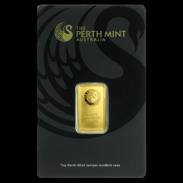 Perth Mint 5 gram Gold Bar - (In Assay)